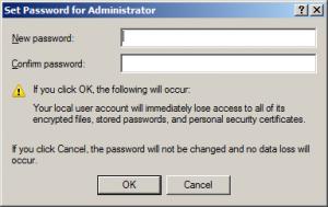 การเปลียน Password